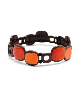 Bracelet Ikita avec motifs géométriques