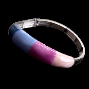 Bracelet Coloseo,en résine peinte