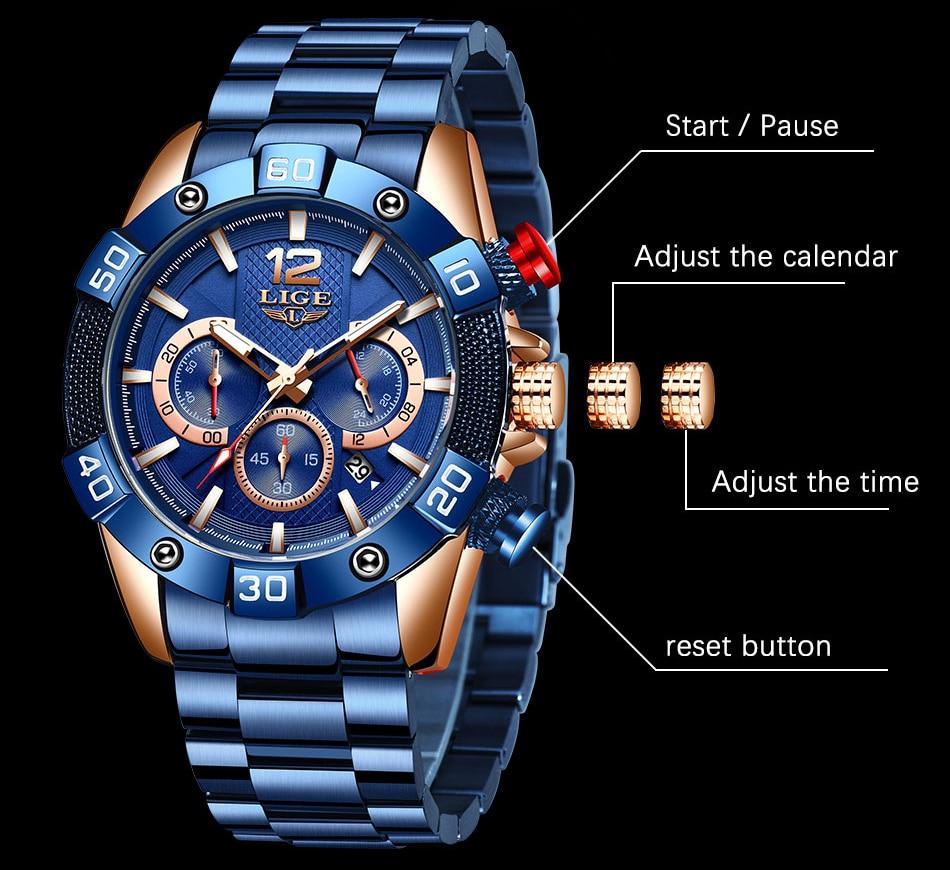 Montre bracelet acier ou silicone