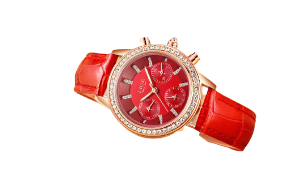Montre_strass_rouge
